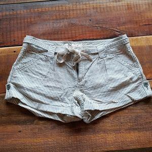 Adorable Seersucker Shorts